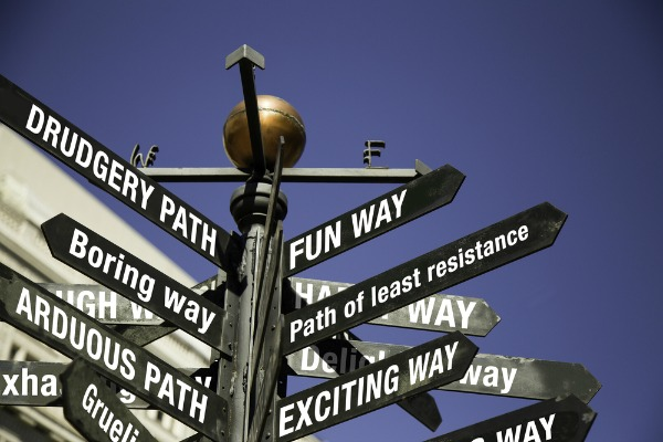 Leveraging the Path of Least Resistance to Get Results